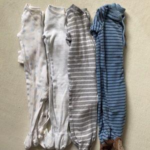 🟣3/$20🟣 Baby Boys 3-6m Pajama / Sleeper Bundle